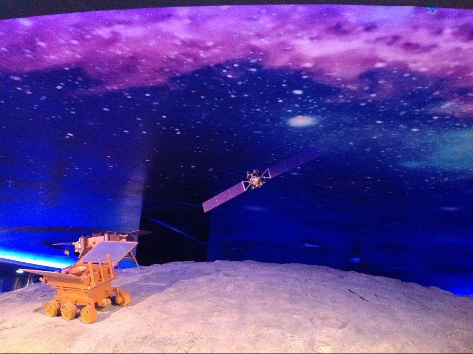 天文馆-探月